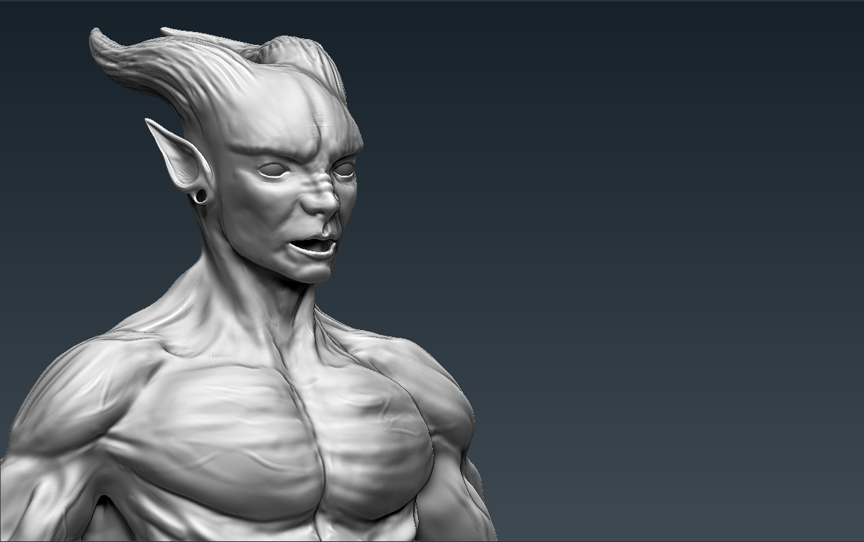 Zbrush Character Sculpting
